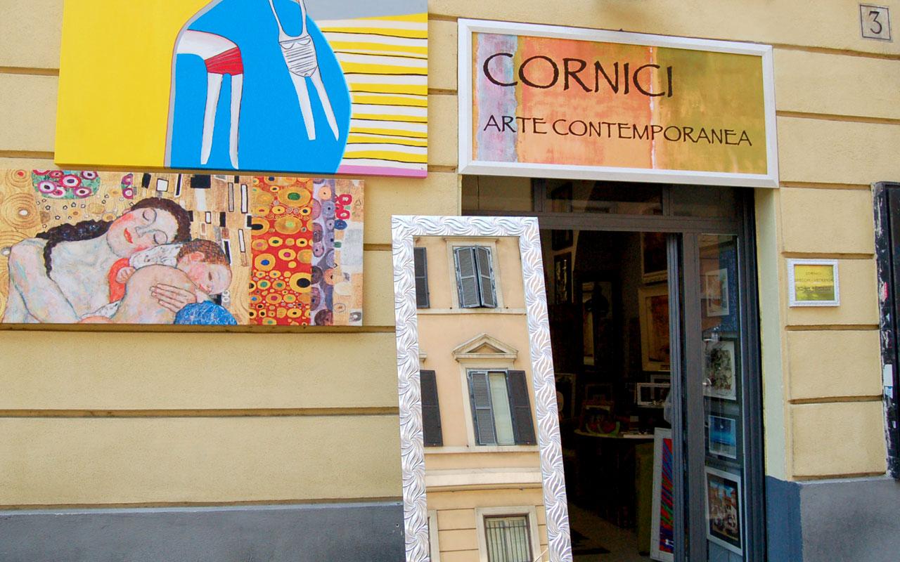 Il corniciaio cornici specchi e vetreria a roma prati - Cornici specchi roma ...