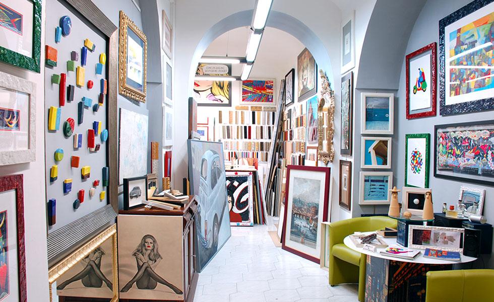 Il corniciaio negozio e laboratorio a roma prati for Cornici in polistirolo per quadri