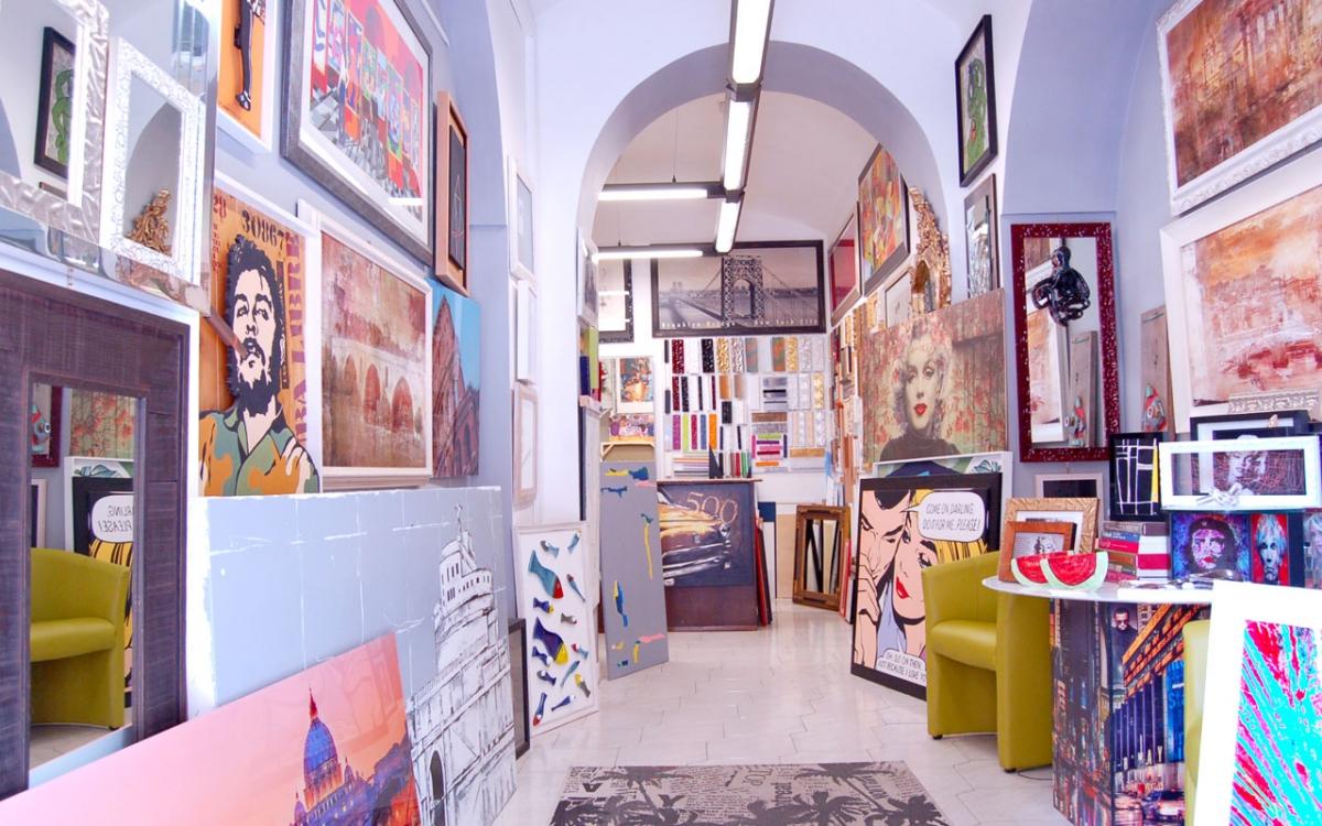 Il Corniciaio, è negozio e laboratorio a Roma Prati